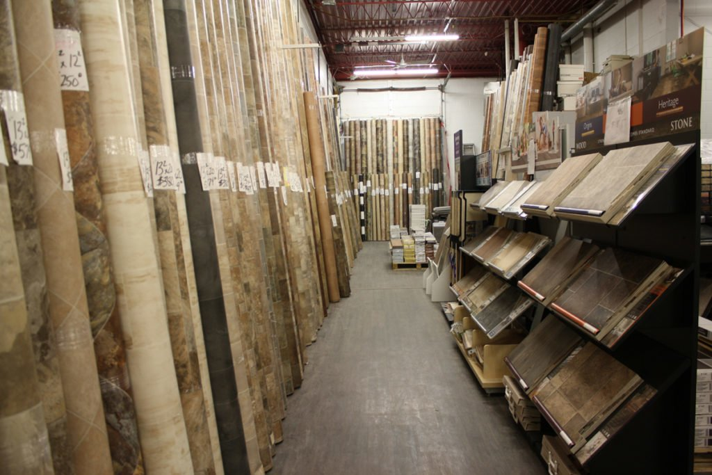Sheet Vinyl Selection Services Page