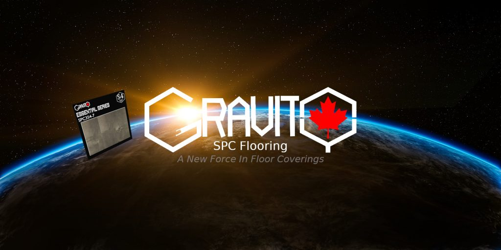 Gravity SPC Flooring. A New Force In Floor Coverings.