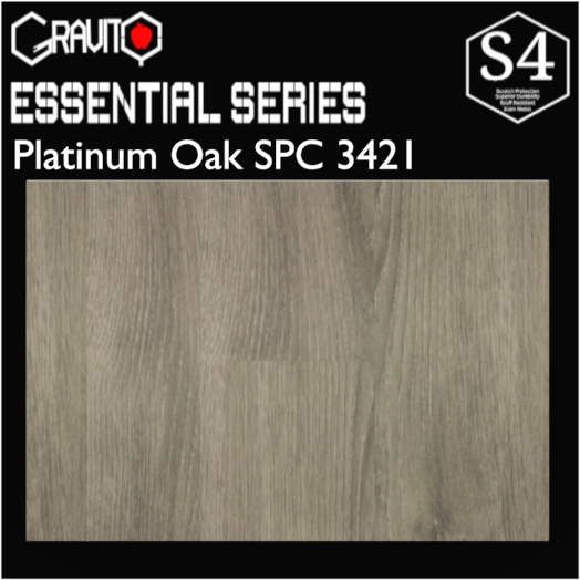 Platinum Oak Gravity SPC | $3.89/sq.ft.