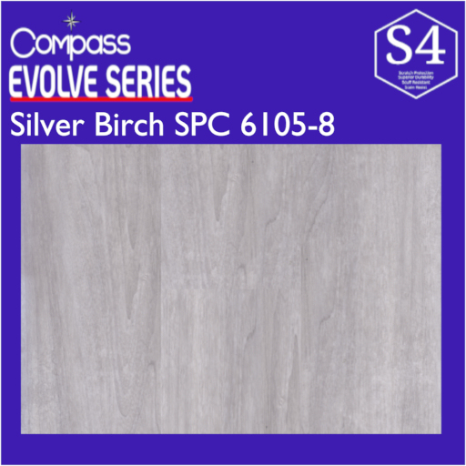 Compass SPC Evolve Series Silver Birch 6105-8